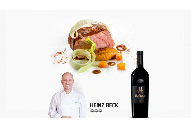 Heinz Beck *** -  telecí a víno Vespa